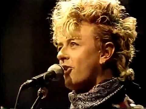 The Stray Cats - Gene and Eddie (Live on Letterman 1990)