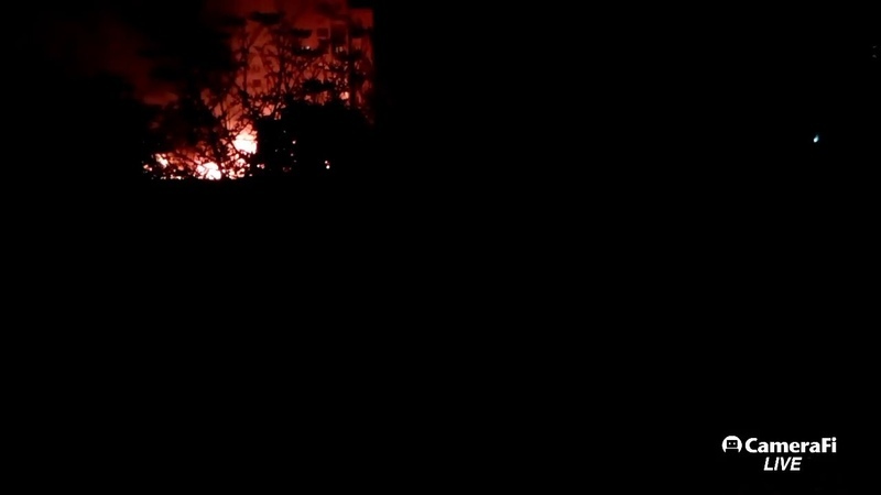 Донецк в огне, сильнейший пожар 7.10.18