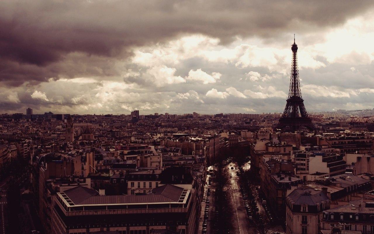 Париж, я люблю тебе