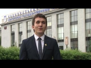 Финалист проекта «ТОП-100 лучших выпускников» Тимур Мамин с любовью к «политеху»!