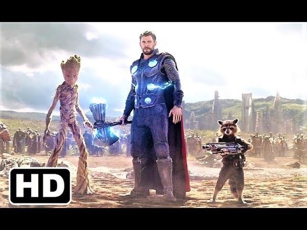 Thor entry in Wakanda - Bring me Thanos - Infinity war HD