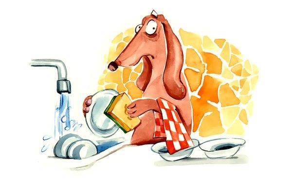Вы тоже ненавидите мыть посуду? Как превратить рутинную бытовуху в любимый досуг