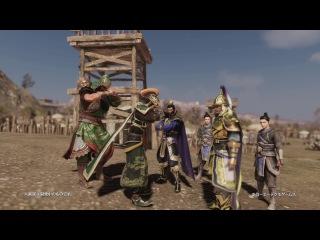 Dynasty Warriors 9 — 8 минут геймплея японской версии