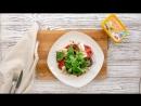 Баклажаны с сыром и помидором