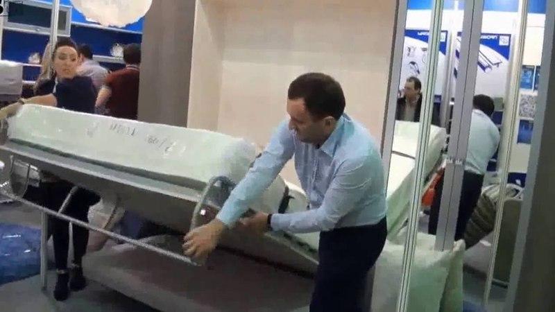 Шкаф кровать диван трансформер - модель БЛЮЗ
