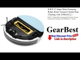 ILIFE V7 Super Mute Sweeping Robot Home Vacuum Cleaner Dust Cleaning with 2600mAh Li - battery  ...