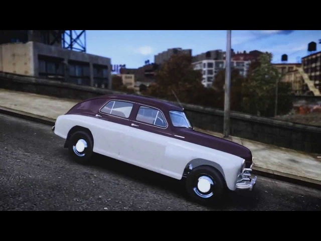 GTA 4 ГАЗ-М20В Победа 1955 directed by SanCheZ for (GTAIV) » Freewka.com - Смотреть онлайн в хорощем качестве