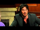 I'm Naked A Lot  Ian Somerhalder Interview  Larry King Now Ora TV