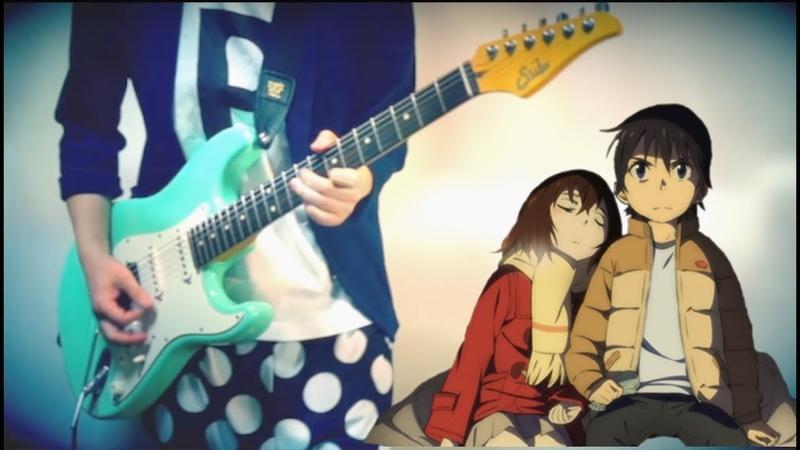 Erased Boku Dake ga Inai Machi Guitar Cover 僕だけがいない街 OP Re Re ギター ベース ドラム 弾いてみた
