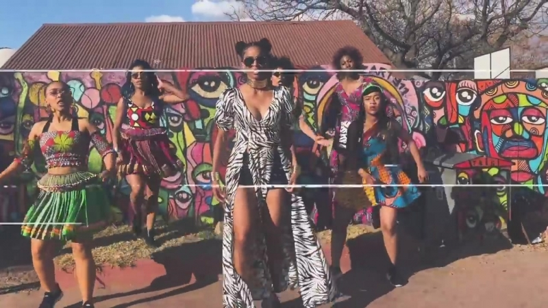 Ciara Dancing to Freak Me ft Tekno in Soweto