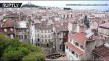 На месте обрушения домов в Марселе ведутся спасательные работы