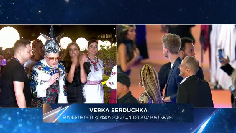 Верка Сердючка на открытии Евровидение 2019 \ Eurovision Song Contest 2019