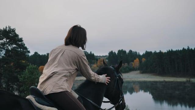 Я и лошадь - Аделя Наркова