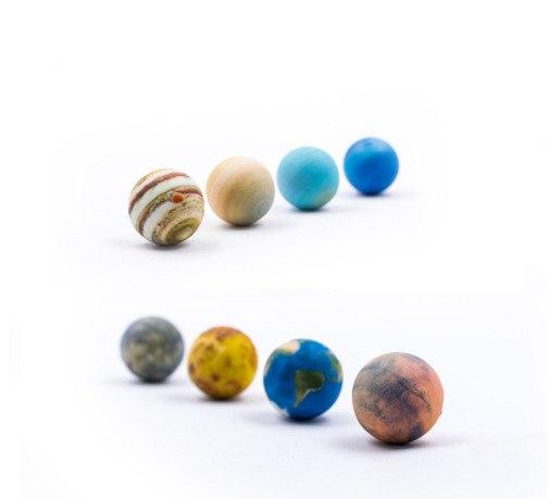 Миниатюрный набор для моделирования солнечной системы