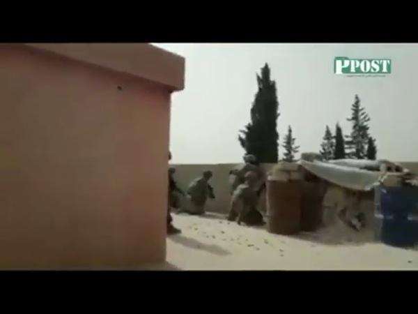 Перестрелка между американскими военными и протурецкими джихадистами