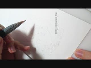 спидпейнт стикера Лисо
