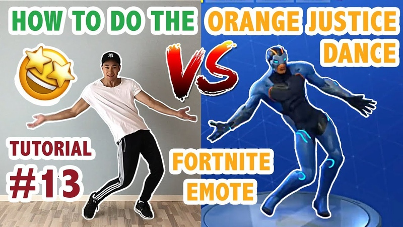 How To Do The Orange Justice Dance In Real Life Advanced Simple Version (Dance Tutorial 13)