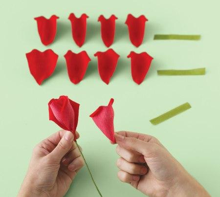 Делаем розу своими руками