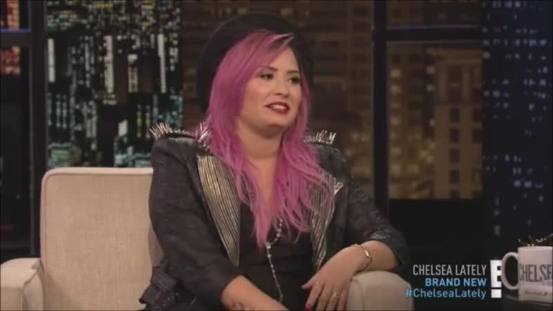 Demi Lovato au Chelsea Lately le 13 Février 2013
