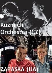 Концертний тур Zapaska (UA) та Kuzmich Orkestra (CZ)