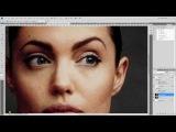 Photoshop / Фотошоп / Как убрать мешки и синяки под глазами