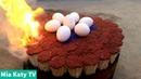 Mia Katy TV Nướng Trứng Gà Bằng 15000 Que Diêm Grill Eggs Chicken Cái Kết Ấn Tượng