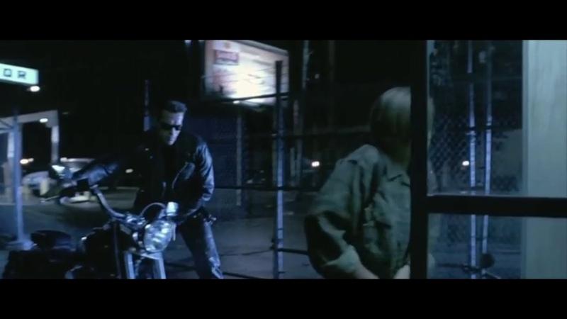 Твои опекуны мертвы ... отрывок из фильма (Терминатор 2/Terminator 2)1991