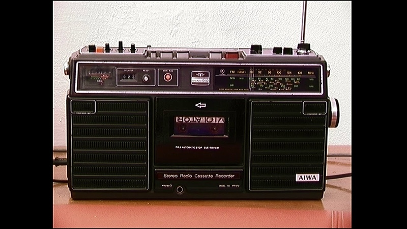 Aiwa TPR-910 videotest radiomagnetofonu