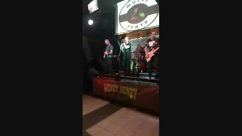 Рок батл в Мани Хани группа Исход