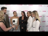 Jenna Coleman videobombs our Little Mix & Adam Lambert interview