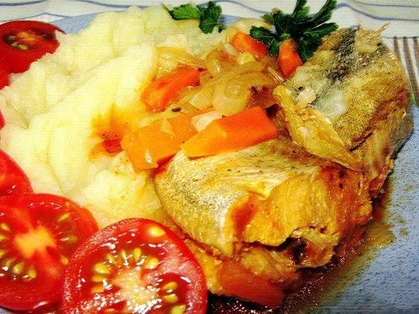 Готовим на ужин рыбку