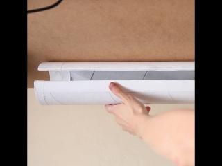 Как спрятать провода под столом