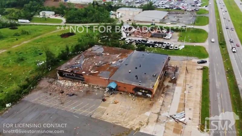 05/23/19 Jefferson City, Missouri-significant tornado damage