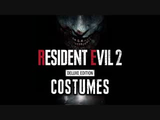 RESIDENT EVIL 2- REMAKE -- ALL COSTUMES! - Deluxe Edition (Military, Sheriff, Noir, Elza Walker)