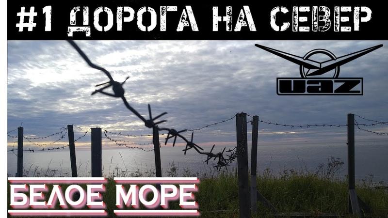 Заполярье 1 || Едем на север😎 || Белое море || Уаз патриот || Travel to the North of Russia