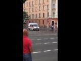В Минске военная техника не пропустила машину скорой помощи