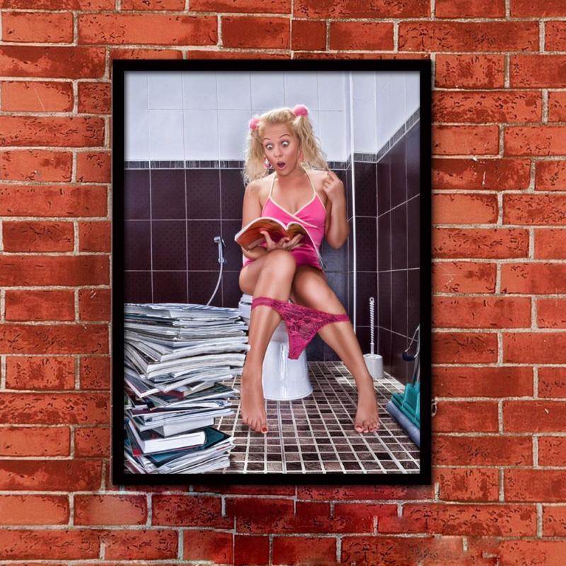 Картина в туалет 204