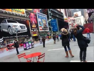 Рассказы о Нью-Йорке. Тайм -сквер - 1. Times Square.