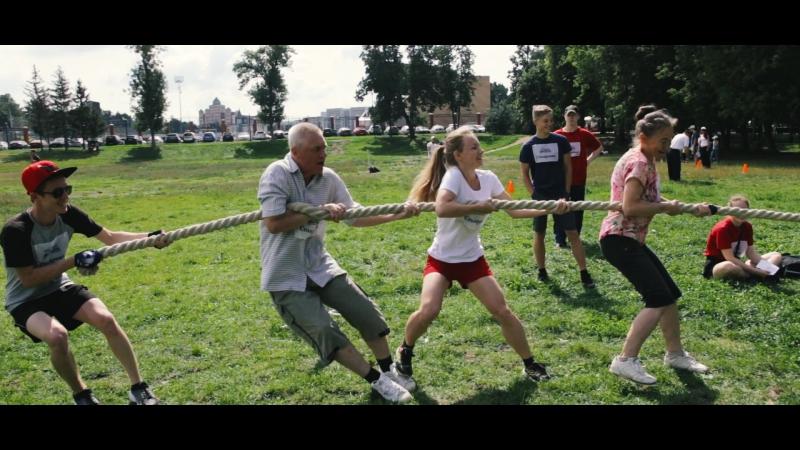 Казань - город счастливых семей. Спортивная семья.