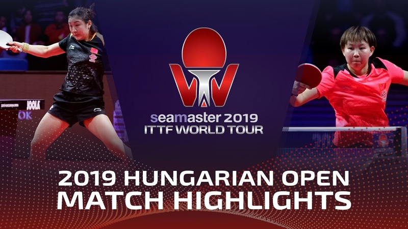 Chen Meng vs Zhu Yuling | 2019 ITTF World Tour Hungarian Open Highlights (Final)