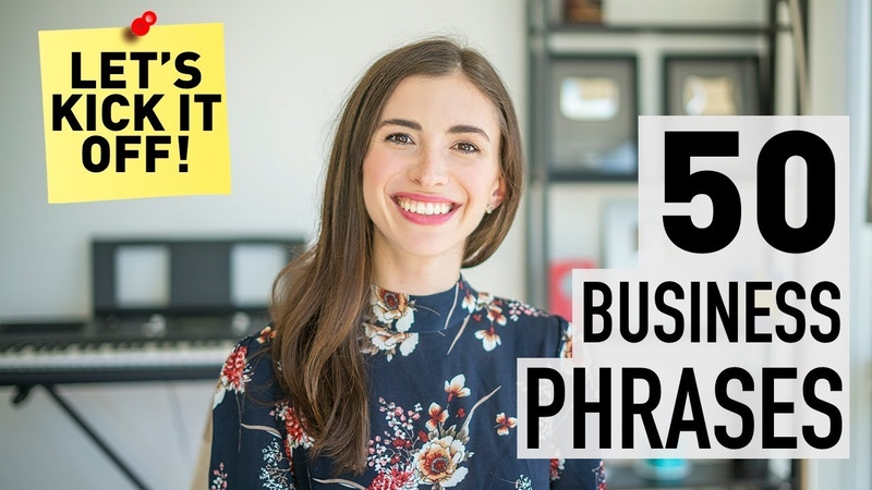 50 PHRASES IN BUSINESS ENGLISH