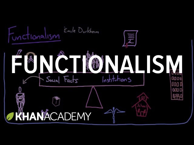 Functionalism   Society and Culture   MCAT   Khan Academy