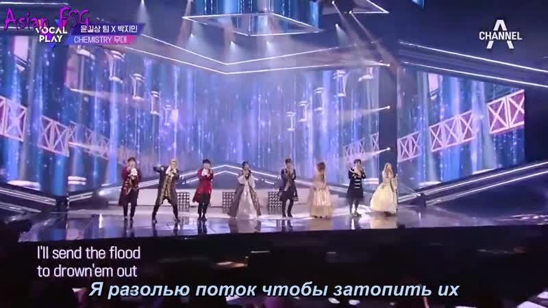 [Vocal Play] 박지민 X 칸 X 엑시트의 위대한 쇼맨 OST This Is Me~☆ l 보컬플레이 10회 (rus.sub)