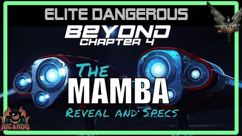 Elite: Dangerous The MAMBA Reveal and Specs Beyond Chapter 4