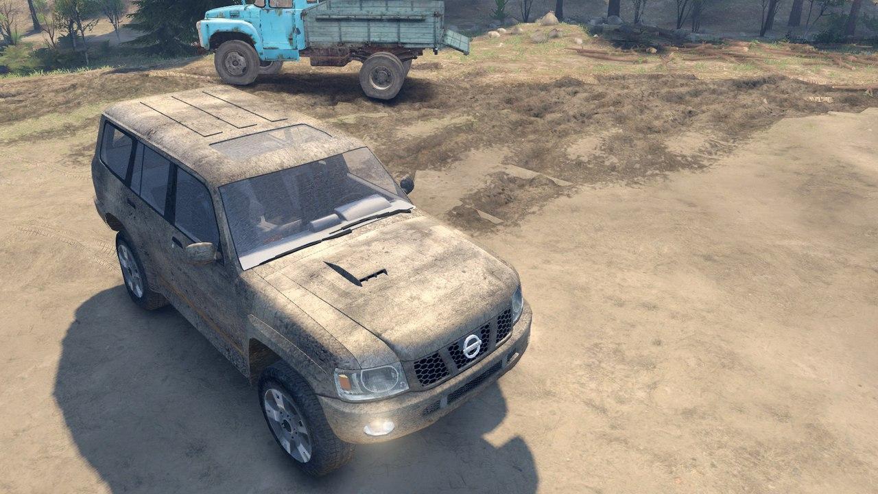 Nissan Patrol 2005 для Spintires - Скриншот 1