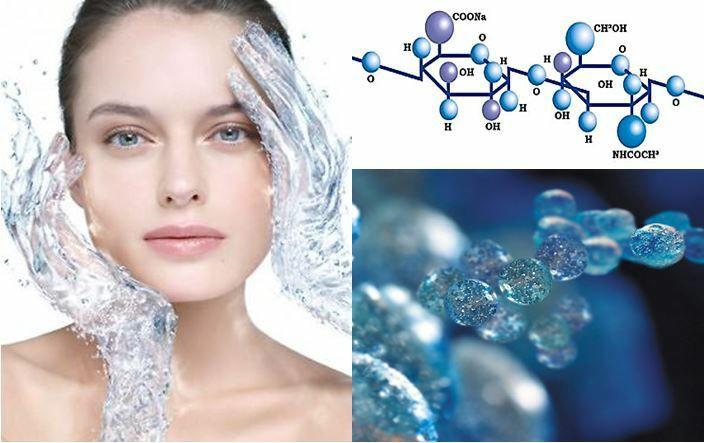 Одна молекула гиалуроновой кислоты может удерживать...