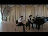 Умиржанов Алиби, концертмейстер- Насибулина Эльвира Балдырган биi (Детский тан