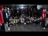 Eastern Splash 2014. Mix styles 3x3. 1/8 финал