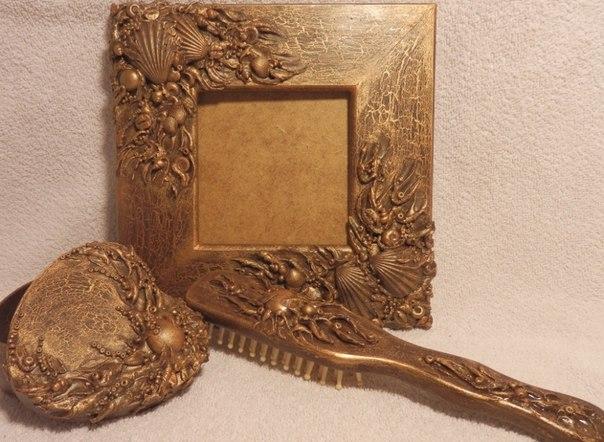 Мастер-класс по декору зеркала