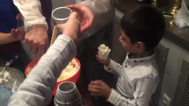 Вкусно! Вкусно! Ещё мороженного! Крио-шоу с изготовлением мороженного. Тел. 8(926)555-25-48